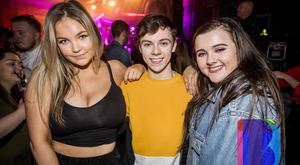 People out for New Years Eve at Limelight. Sunday 31st December 2017 by Liam McBurney/RAZORPIX