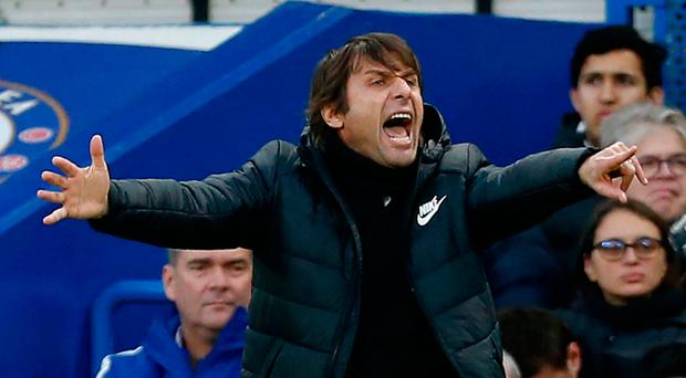 Wearing thin Antonio Conte is frustrated with his small squad