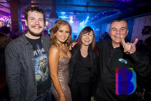 People out for New Years Eve at QUB Speakeasy for Meltdown. Sunday 31st December 2017 by Liam McBurney/RAZORPIX