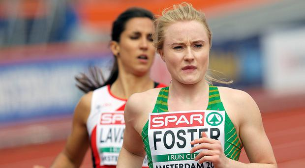 Devastated: Amy Foster didn't make NI Commonwealth Games team despite hitting qualification standard