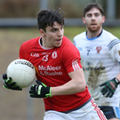 On target: Lee Brennan was among the Tyrone scorers in their win over Antrim