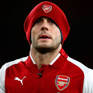 Cap fits: Jack Wilshere is starting to hit top form