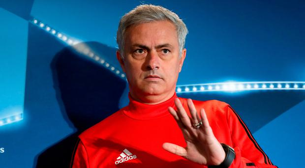 Here to stay: Jose Mourinho has stressed his commitment to Manchester United