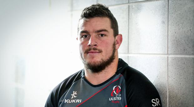 Fired up: Ulster's Sean Reidy
