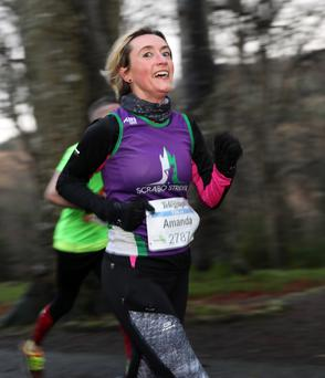 Runner Amanda Martin / Credit: Press Eye, Declan Roughan