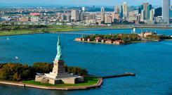 Name game: Ellis Island was described as an insulet in the 1600s