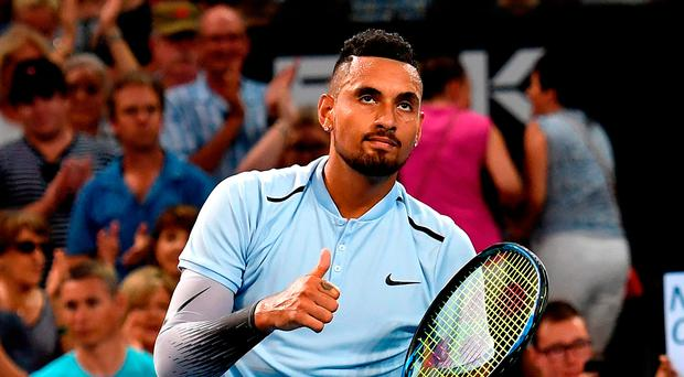 Nick Kyrgios wins ATP title in Australia for first time