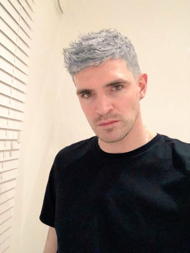 Northern Ireland footballer Kyle Lafferty fools his fans with new hair do.