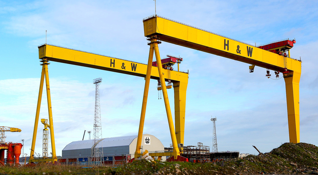 Harland & Wolff bidding for work on £1.25bn MoD shipbuilding scheme