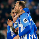 Late show: Glenn Murray struck winner for Brighton