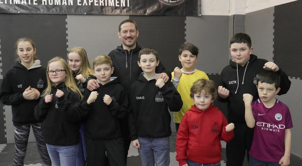 John Kavanagh opening new SBG martial arts gym in Belfast City Centre.