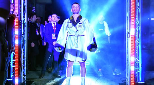 In the spotlight: Carl Frampton is relishing his clash with Nonito Donaire in April