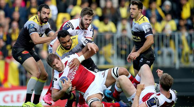 Now or never: Chris Henry in action during last October's second round clash with this weekend's opponents La Rochelle