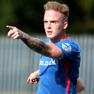 Hot property: He may not be wanted by Linfield but Aaron Burns is a man in demand