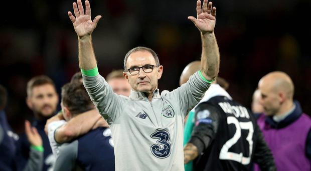 In charge: Martin O'Neill's talks with Stoke City have changed the dynamic of his relationship with his employers, the FAI