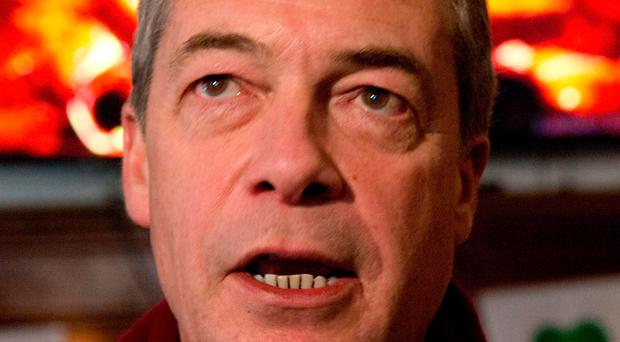 Pay docked: Nigel Farage