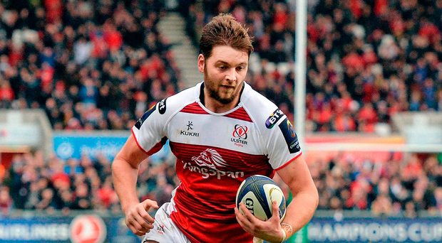 Battle cry: Iain Henderson is demanding a rock solid European performance by Ulster this afternoon