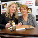 Emma Heatherington with Philomena Begley