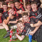 In it to win it: The Tyrone Under-17 team celebrate winning the All-Ireland Championship