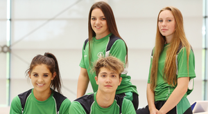 Members of NI's Commonwealth Youth Games team