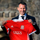 Familiar face: Ryan Giggs says he is a proud man after being unveiled as the new Wales boss
