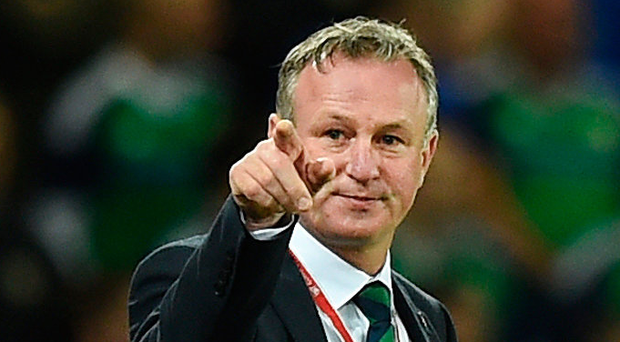 In demand: Michael O'Neill is wanted by both the Irish FA and Scottish FA