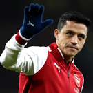 Big farewell: Alexis Sanchez is set to wave goodbye to Arsenal