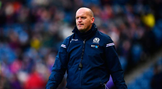 Staying positive: Scotland head coach Gregor Townsend