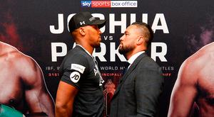 Unification: Anthony Joshua and Joseph Parker face off