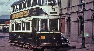 Past and present: some of the images of Belfast transport featured in the new book by Mike Maybin
