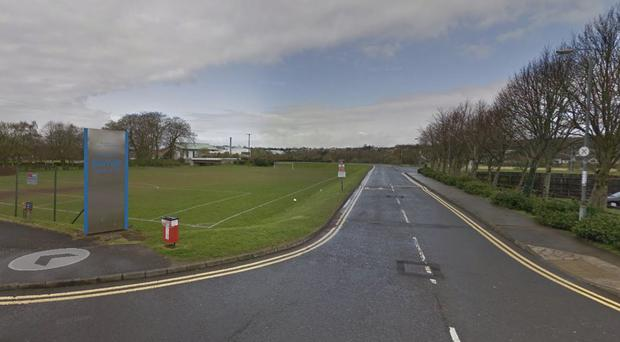The incident happened at Sixmile Leisure Centre in Ballyclare. Pic Google Maps
