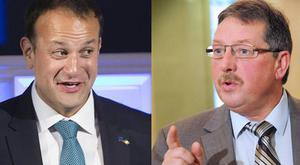 Sammy Wilson hit out at the Taoiseach over his speech to the EU.