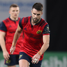 For kicks: Conor Murray kicking for Munster last week