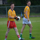 Maurice McCloughan (left) and Killian Doherty died in a 2016 road accident