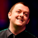 Job done: Mark Allen completes his victory over Ronnie O'Sullivan