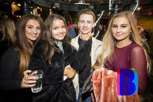 People out at Filthy McNastys for Dsqo. Attack Of The Loans. Thursday 18th January 2018 by Liam McBurney/RAZORPIX