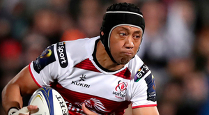 Fan favourite: Christian Leali'ifano impressed during his short stay at Ulster