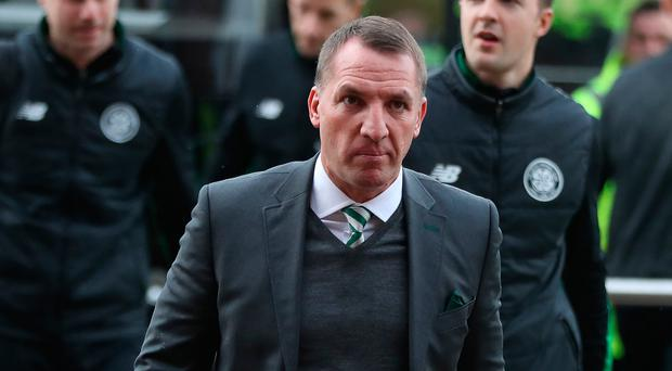 Optimistic: Brendan Rodgers