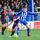 Coleraine's Darren McCauley netted his side's equaliser at the Showgrounds. Photo by David Maginnis/Pacemaker Press
