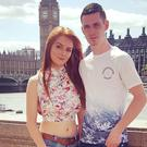 Shannon McQuillan and boyfriend Owen McFerran