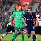 Harry Kane scored his 99th Premier League goal to earn a point for Spurs