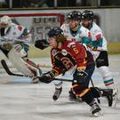 Belfast Giants in action. Pic: John Uwins