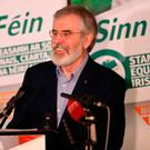 Quitting: Gerry Adams