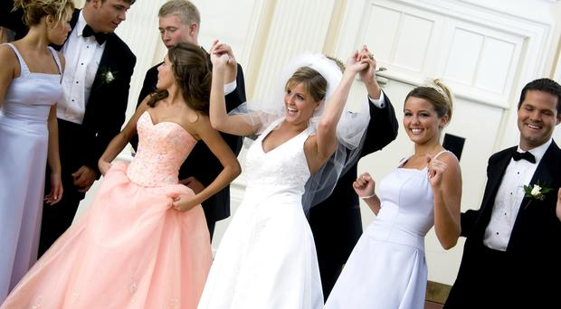 The number of Catholic marriage annulments in Northern Ireland has plummeted by around two thirds over the last 20 years, it can be revealed. File image posed by models