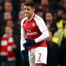 Alexis Sanchez wore the number seven shirt for Arsenal (John Walton/EMPICS Sport)