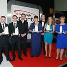 Special contribution: Paddy Barnes and Michael Conlan with their awards in 2013