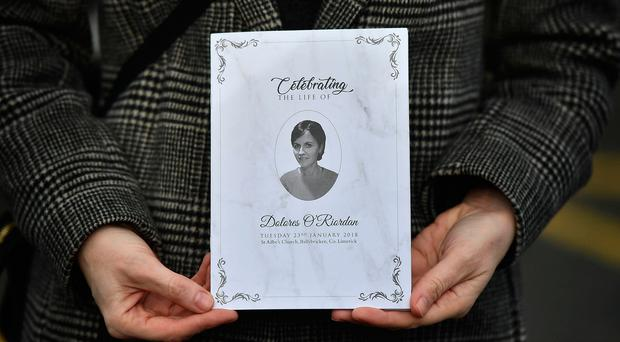 Dolores O'Riordan mourned by thousands during open-casket viewing