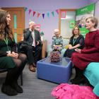 Press Eye - Belfast - Northern Ireland - 23rd January 2018 - The NSPCC's Royal patron, HRH The Countess of Wessex, has seen at first hand the charityÕs Young Witness Service during a visit to Laganside Courts in Belfast. Photo by Kelvin Boyes / Press Eye