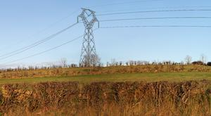 The interconnector will see 85 miles of overhead lines and pylons connecting Northern Ireland to the Republic