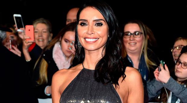 Christine Lampard attending the National Television Awards 2018 (Matt Crossick/PA Wire)